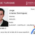 Carnet Guia de Turismo en la Comunitat Valenciana
