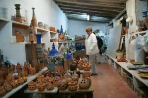 Excursión escolar taller de alfarería en Agost