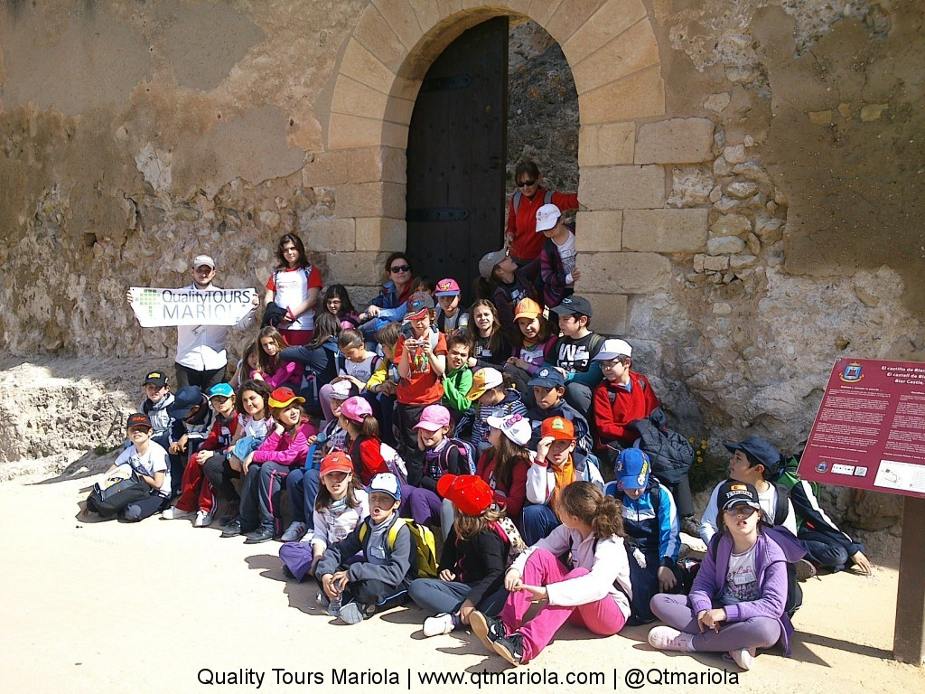 excursion escolar ruta de los castillos