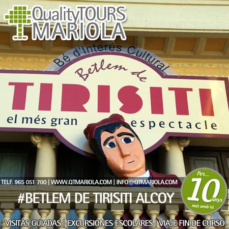 BETLEM DE TIRISITI alcoy
