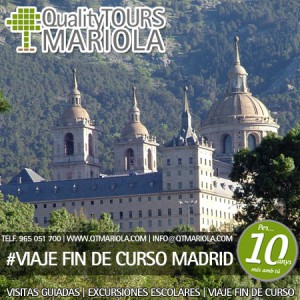 VIAJE FIN DE CURSO MADRID, viaje fin de curso madrid