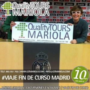 VIAJE FIN DE CURSO MADRID