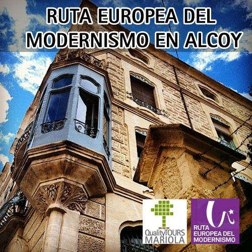 ruta europea del modernismo en alcoy, ruta modernismo alcoy
