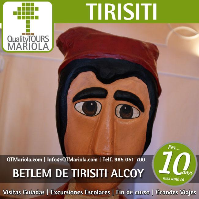 Excursión Escolar Betlem Tirisiti Alcoy