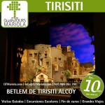 excursion escolar betlem de tirisiti alcoy,visita colegios Betlem de Tirisiti Alcoy
