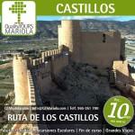 Excursión escolar Ruta de los Castillos del Vinalopó, castillo de castalla
