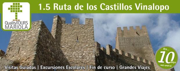 Excursión escolar Ruta de los Castillos del Vinalopó