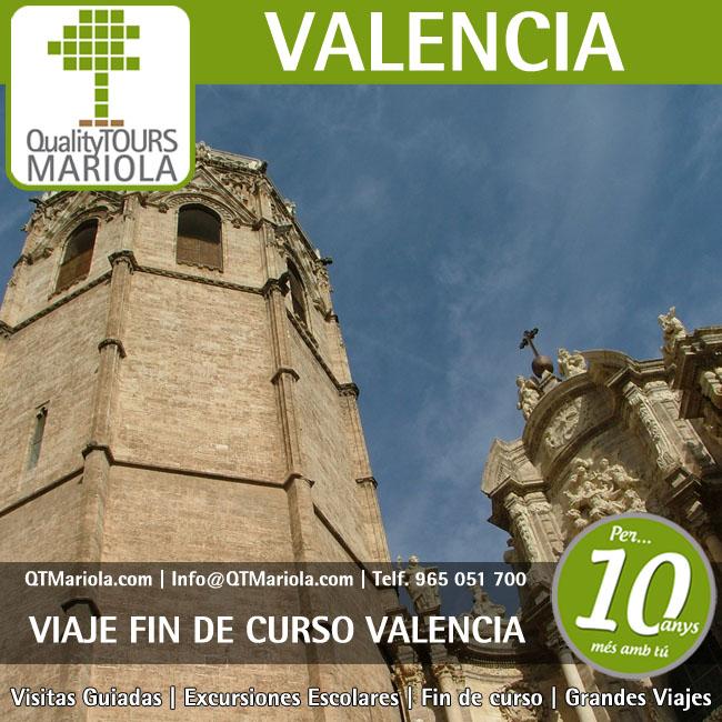 viaje fin de curso valencia, excursiones cruceros valencia