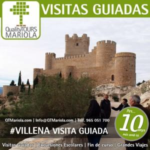 visita guiada villena, castillo de villena