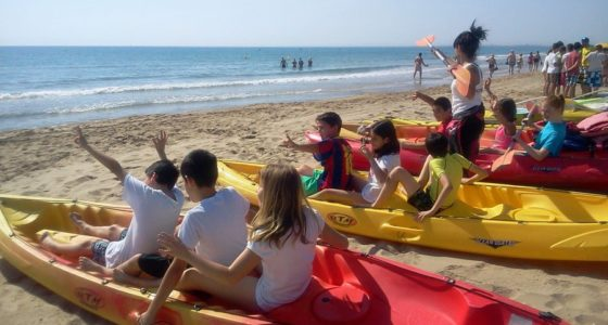 actividades nauticas escolares