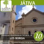excursión escolar játiva, escursiones escolares játiva, visita guiada játiva, los borgia, los borja, colegiata de Játiva