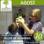 excursión escolar agost, taller alfarería, emili boix, visita colegios Agost