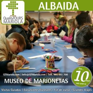 excursión escolar albaida, museo internacional de las marionetas albaida, museu internacional de les titelles albaida, mita