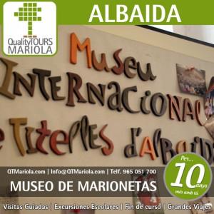 excursión escolar albaida, museo internacional de las marionetas albaida, museu internacional de les titelles albaida, mita, visita guiada albaida