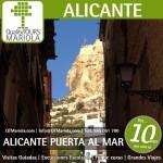 visita colegios Alicante, visita guiada alicante, cara del moro alicante, monte benacantil