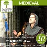 excursión escolar aventura medieval, excursiones escolares