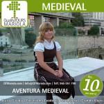 excursión escolar aventura medieval