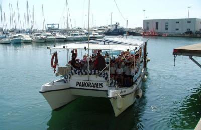 excursión escolar bus + tranvia + barco, alicante, el campello, Visita colegios bus + tranvia + barco