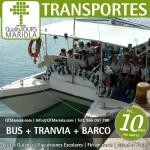 excursión escolar bus + tranvia + barco, alicante, el campello, visita colegios bus + tranvia + barco, puerto de alicante