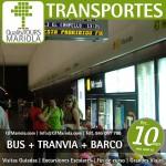 excursión escolar bus + tranvia + barco, alicante, el campello, visita colegios bus + tranvia + barco, tram alicante