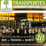 excursión escolar bus + tranvia + barco, alicante, el campello, visita colegios bus + tranvia + barco, tranvia alicante
