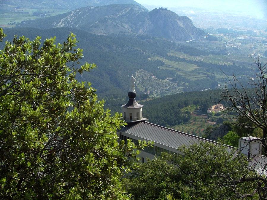 Excursión escolar Font Roja Alcoy Parque Natural