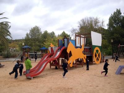excursión escolar la ruta del juguete, ludoteca ibi