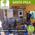 excursion escolar salinas santa pola, parque natural, acuario, santa pola