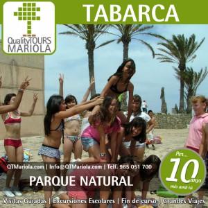 excursión escolar tabarca, excursión tabarca, parque natural tabarca, visits colegios Tabarca, visitas guiadas isla de tabarca