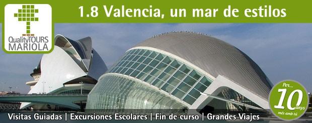 excursión escolar valencia, visita guiada valencia, ciudad de las artes y de las ciencias