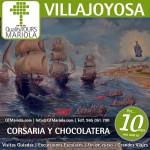 excursión escolar villajoyosa, visita guiada villajoyosa, visita fabrica chocolates valor, visita guiada villajoyosa, visita colegios Villajoyosa, piratas villajoyosa