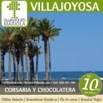 excursión escolar villajoyosa, visita guiada villajoyosa, visita fabrica chocolates valor, visita colegios Vialljoyosa, playa villajoyosa