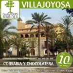 excursión escolar villajoyosa, visita guiada villajoyosa, visita fabrica chocolates valor, visita colegios Villajoyosa, finca de la barbera villajoyosa