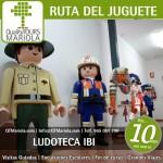 excursión escolar la ruta del juguete, ludoteca ibi, fabrica playmobil