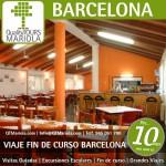viajes fin de curso barcelona, viaje fin de curso barcelona