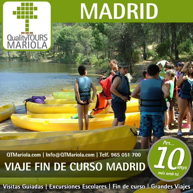 Viajes fin de curso madrid 4 excursiones escolares for Curso de escaparatismo madrid