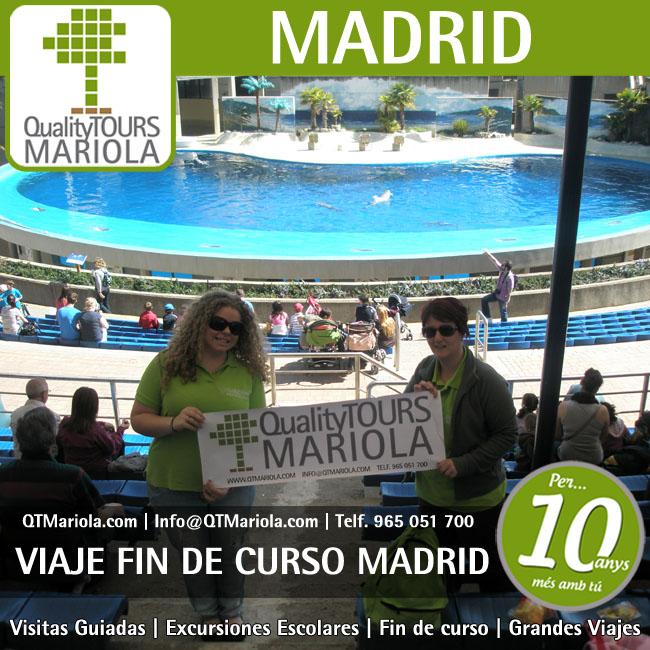 Viajes fin de curso madrid 7 excursiones escolares for Curso de escaparatismo madrid