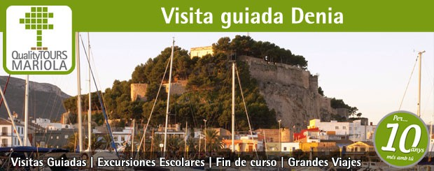 visita guiada denia, excursion escolar, guided tours