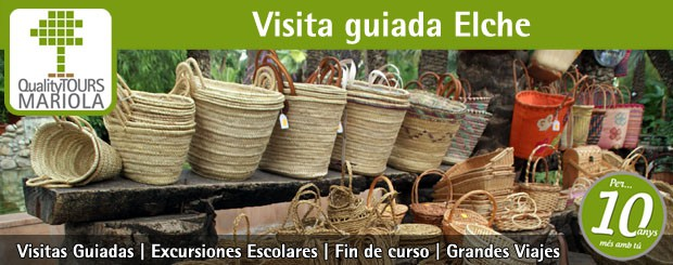 visita guiada elche, guided tours elche