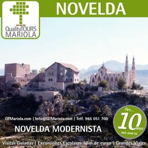 visita guiada novelda, excursión escolar novelda, excursiones escolares novelda, Visita colegios Novelda modernista