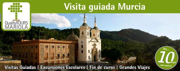 visita guiada murcia, guided tours murcia, shore excursions murcia, Viaje fin de curso La Manga