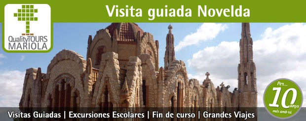 visita guiada novelda, guided tours novelda