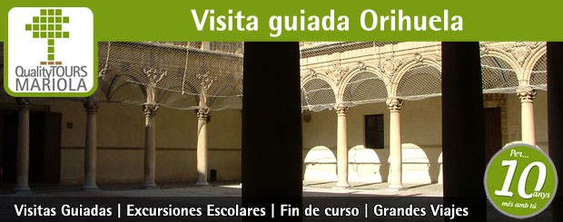 visita guiada orihuela, guided tours orihuela