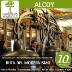 ruta del modernismo en Alcoy, Excursión Escolar Alcoy