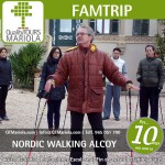 nordic walking en alcoy, font roja, parque natural