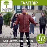 nordic walking en alcoy, font roja, parque natural