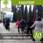 nordic walking en alcoy