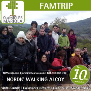 nordic walking en alcoy