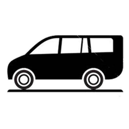 transporte en monovolumen de lujo
