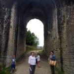 Anfiteatro romano de Saintes en familia